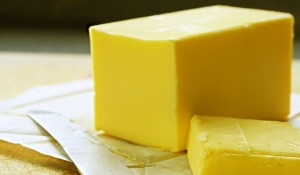 Butter: A good source of fat.