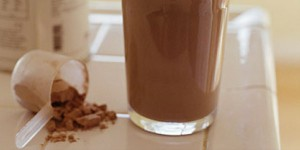 Protein shakes are also classed as dietary supplements.