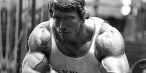 Schwarzenegger: This is where determination can get you.