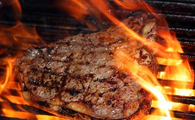 Steak: A great source of protein and calories.