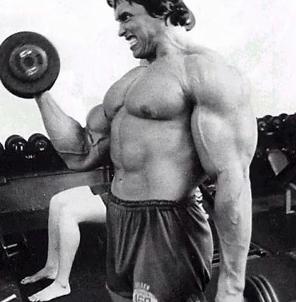 Training Chest With Arnold Schwarzenegger