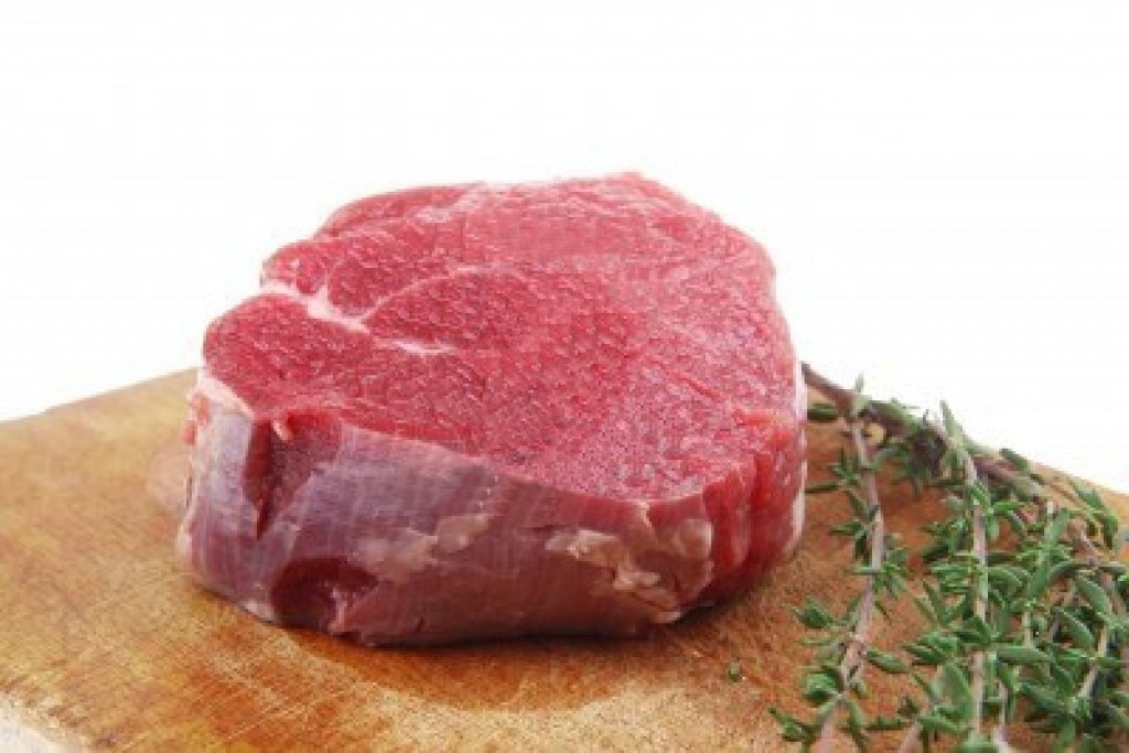 beef fillet raw