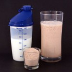 GAIN MUSCLE MASS WITH HOMEMADE SHAKES